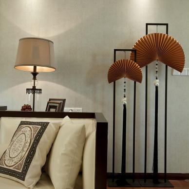 三居室中式风格客厅装修效果图大全