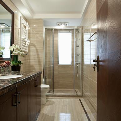 三居室中式风格整体淋浴房装修效果图