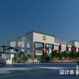 幼儿园建筑设计效果图图片欣赏大全