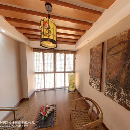 中式新古典休闲区装修图片