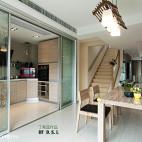 现代小户型厨房隔断装修效果图大全