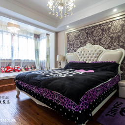 家庭婚房卧室装修效果图