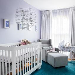 简易婴儿木床图片