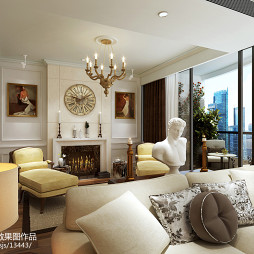 欧式别墅家具装修设计