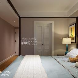 美式风格家装卧室衣柜装修图片