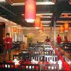 中式火锅店灯笼图片