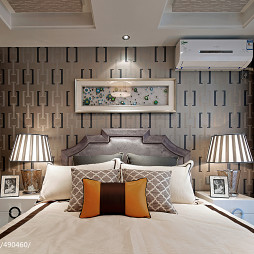中式卧室装修效果图大全2017图片