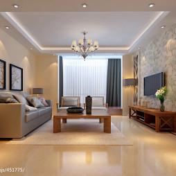 威海《謦室芬芳》现代简约风格 家装室内设_1421659