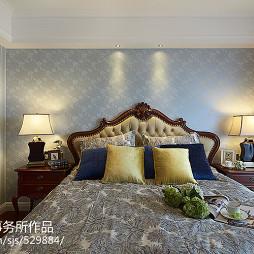 欧式卧室绿色家具装修效果图