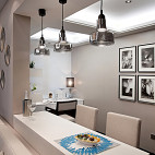 现代风格样板房书房装修效果图大全