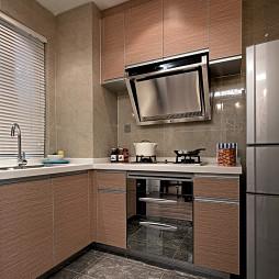 现代风格样板房农村厨房设计效果图大全