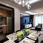 现代风格样板房餐厅装修效果图欣赏