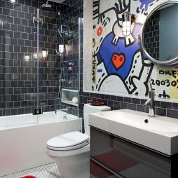 浴室壁画设计
