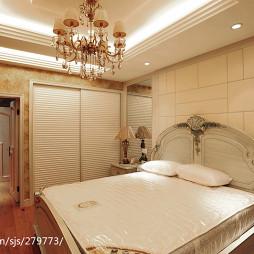 美式卧室背景墙设计效果图大全