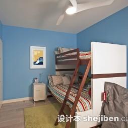 男儿童房间设计效果图欣赏