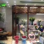 现代花店装修设计效果图