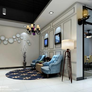 AIX英伦下午茶——办公室室内装饰设计_1461535