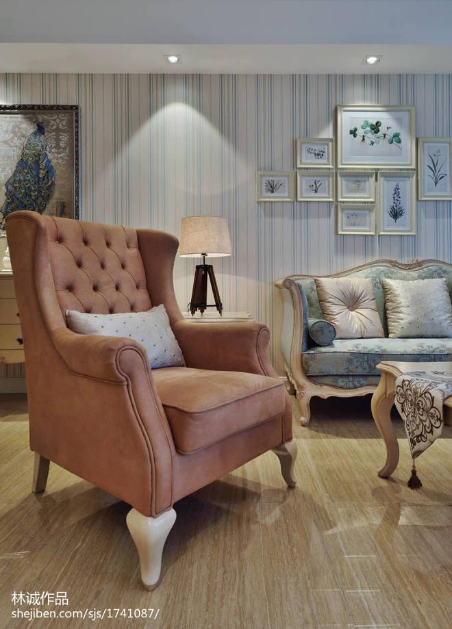 美式风格客厅沙发效果图