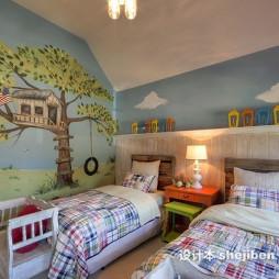 儿童房间布置效果图集欣赏
