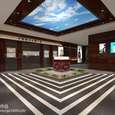 中式风格精品展示柜设计