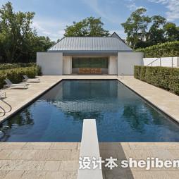 泳池砖设计效果图欣赏