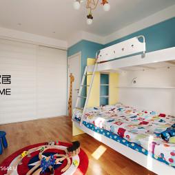 混搭三室两厅儿童房装修效果图