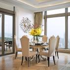 别墅设计现代风格餐厅装修效果图大全2017图片