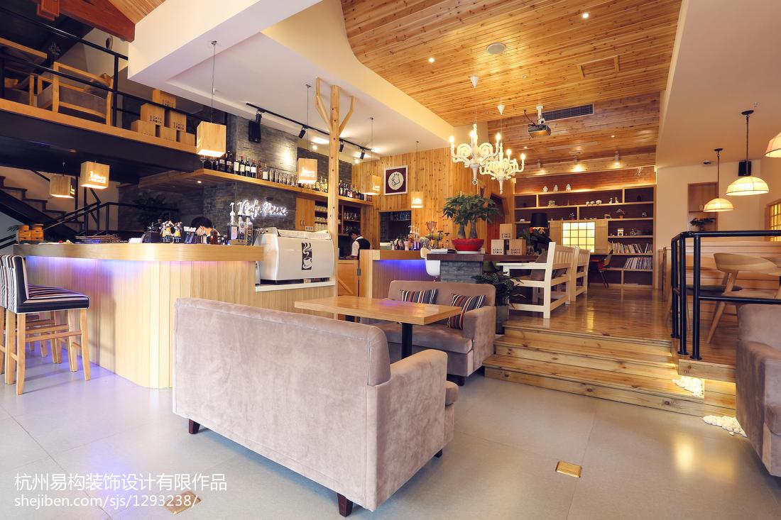 小型咖啡厅装修效果图_创意咖啡厅装修效果图_小型咖啡店设计图片-设计本专题