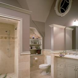 灰色卫生间图片