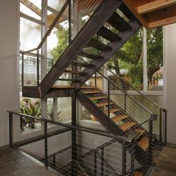 栏杆扶手家居设计效果图欣赏