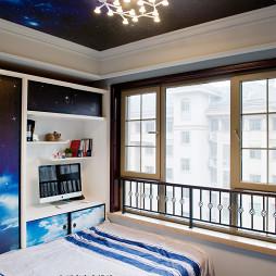 新中式混搭新古典儿童房装修图
