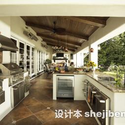 餐厅连厨房吊顶装修图片