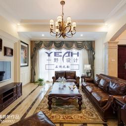 别墅设计美式客厅装修