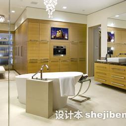 浴室台盆柜装修效果图集欣赏