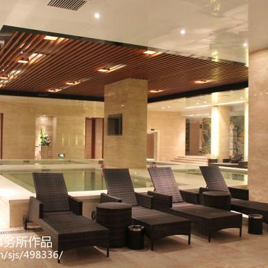 温泉酒店浴区设计图