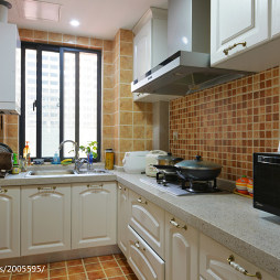 混搭风格三居室厨房装修效果图大全