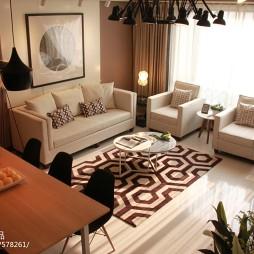 交换空间现代风格小户型客厅图片