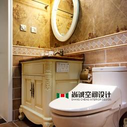 混搭风格三室两厅卫生间装修效果图大全