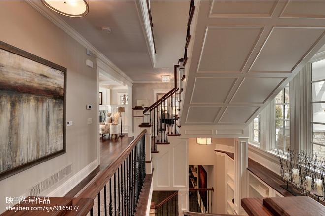 别墅楼梯设计效果图片