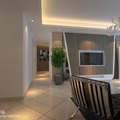 现代、时尚、个性三居室设计方案_1521953