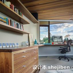 儿童房飘窗改书桌设计