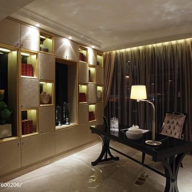 古典气息下的混搭别墅设计_1531137