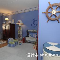 淡蓝色房间装修设计效果图大全
