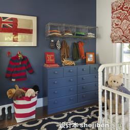 淡蓝色房间设计效果图欣赏