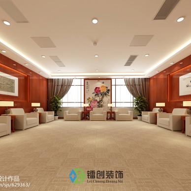滨州市某企业接待室装饰设计方案_1541687