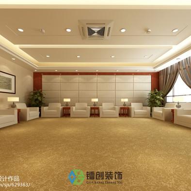 滨州市某企业接待室装饰设计方案