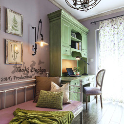 美式客厅书房装修设计