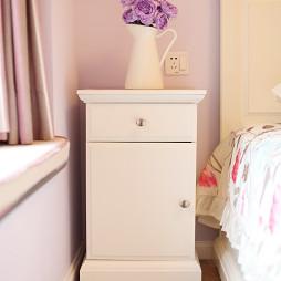 欧式风格卧室床头柜装修图片