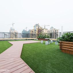 现代楼顶花园图片