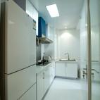 混搭风格小小厨房家装设计效果图